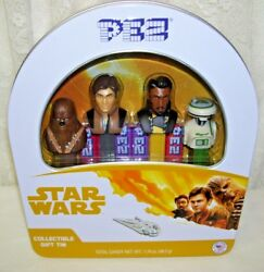 Star Wars Pez Set Of Four With Collectible Tin Box 2018