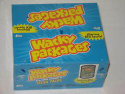 Topps Wacky Packages  All New Series 6 Mega Packs Sealed Retail Box Wrapped
