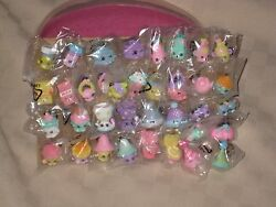 SHOPKINS SEASON 4 EASTER PASTEL LOT COMPLETE SET OF 36 NEW INSIDE CLEAR BAGS