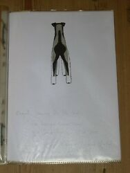 RARE AIREDALE TERRIER DOG BOOK ORIG DRAWINGS FOR
