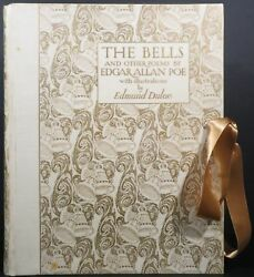Edgar Allan Poe  THE BELLS AND OTHER POEMS Signed 1912