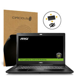 Celicious Privacy Plus MSI Workstation WS72 6QI [360°] Anti-Spy Screen Protector