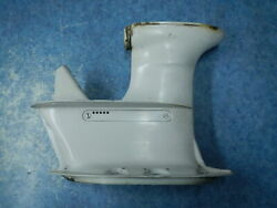 Engine Gearcase Housing 1966 Johnson Outboard Super Seahorse 40hp Rd5l-27m 66
