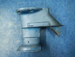 Engine Gearcase Housing 1955 Evinrude Outboard Fastwin Aquasonic 15hp 55