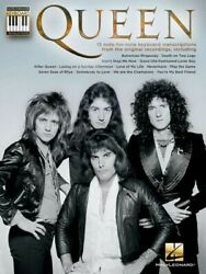 Queen Note-for-note Keyboard Transcriptions Paperback By Queen Like New U...
