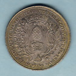 Germany - Augsburg... 1765-it Fah, Thaler.. Flowered Edge.. Aef - Trace Lustre