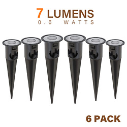 Malibu Led Deck Lights Low Voltage For Stairs Pathway Landscape Lighting 6 Pack