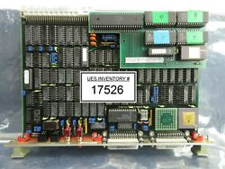 Philips Pg2026 Cpu Pcb Card Asml 4022.230.0332 Pas 5000/2500 Wafer Stepper Used