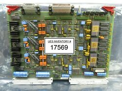 Asml 4022.430.0530 P. Chuck Drive Pcb Card Pas 5000/2500 Wafer Stepper Used