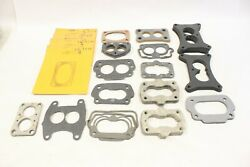 Nos 30and039s 40and039s 50and039s Two-barrel Carburetor Mounting Gaskets Chevrolet Ford Mopar