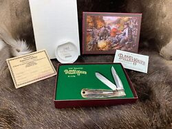 1994 Remington Baby Bullet Trapper Knife R1176 And Poster Mint In Box Nice And Rare