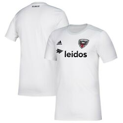 Adidas Dc United Mls 2019 Soccer Home Jersey Brand New Pure White