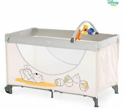 Hauck DISNEY WINNIE THE POOH DREAM N PLAY GO TRAVEL COT - POOH CUDDLES - NEW