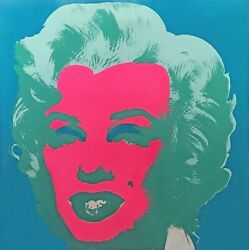 ANDY WARHOL II.30: MARILYN 1967  RARE SIGNED SCREENPRINT  SEE LIVE*  GALLART