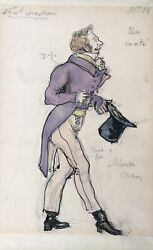 Alexander BENOIS (Artist): Original Costume Design for THE NUTCRACKER