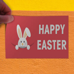 Decal Sticker Happy Easter #2 Holidays and Occasions Happy Easter Store Sign