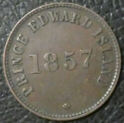 1857 Canadian Colonial Edward Island - Self Government And Free Trade Token