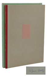 Beau Brummell Virginia Woolf Signed Limited First Separate Edition 1st 1930