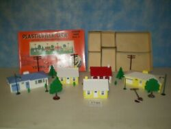 Bachmann Plasticville Usa House Unit H U - 7 Scaled To O And S Gauge Complete Box