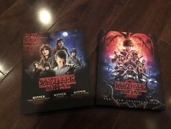 2017 & 2018 Emmy DVD Stranger Things Complete Seasons 1 & 2 Winona Ryder