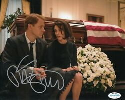 Peter Sarsgaard Signed Jackie Movie 8x10 Bobby Kennedy Acoa Authenticated 2