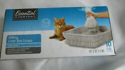 Sifting Cat Box Liners Extra Giant Size Box of 10 1 Transfer Liner