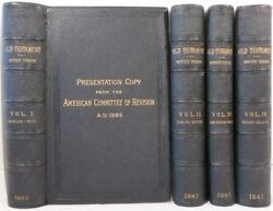 Bible In English Old Testament / Holy Bible Containing The Old And New 1885