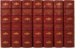 Life And Works Of Charlotte Bronte And Her Sisters 1900 The Hawthorne Edition