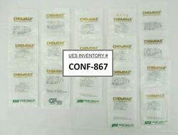 Greene Tweed 9121-sd570 Chemraz O-ring As-568a-121 Cpd 570 Lot Of 17 New Surplus