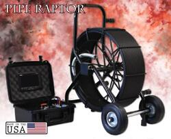 225and039 Color Sewer Camera 512hz Sonde Video Pipe Inspection System Pipe Raptor Glx