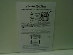 Repro American Flyer M2204 Instructions For 582 Automatic Blinker Signal