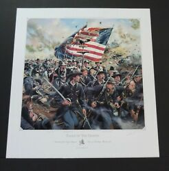 Don Troiani - The Eagle Of The 8th - Artist Proof - Collectible Civil War Print
