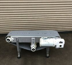12andrdquo X 4andrsquo Long Stainless Conveyor 2 Food Conveying
