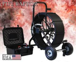 275and039 Color Sewer Camera 512hz Sonde Video Pipe Inspection System Pipe Raptor Glx