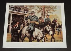 Don Stivers - Peace With Honor - A/p - Collectible Civil War Print - Mint
