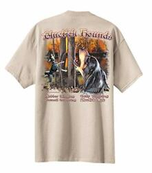 Mens Tees Shirts All American Outfitters Bluetick Hounds