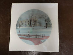 P. Buckley Moss State Capital 1987 Signed Print 426/1000 Sold Out As Is