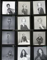 SUZANNE PLESHETTE Embossed CONTACT SHEET 11x14 Photo By Harry Langdon 3b