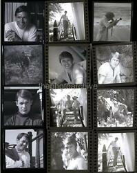 Superb CHAD EVERETT Embossed CONTACT SHEET 11x14 Photo By Harry Langdon 4b