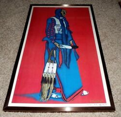 Vintage American Indian Lithograph - Limited Edition 176/200 - Artist Signed