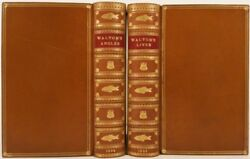 Izaak Walton / Complete Angler With The Lives Of Dr John Donne Sir Henry Wooton