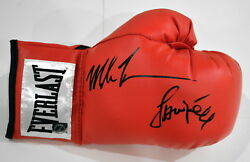 Iron Mike Tyson And Jamie Foxx Autographed Signed Everlast Boxing Glove Asi Proof