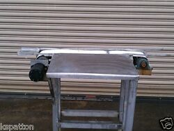 6 X 36 Long Ss Conveyor With Ss Pack Off Table And Food Grade Belt