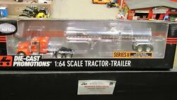 Dcp30758 Tiger Lines Pete 379 Semi Truck Chemical Tank Tanker Trailer 164/in