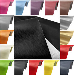 Faux Leather Fabric Soft Pu Material Grained Waterproof Leatherette Upholstery