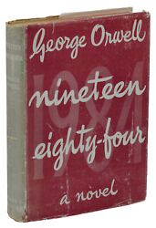 Nineteen Eighty-Four ~ GEORGE ORWELL ~ First British Edition 1949 1984 1st Print