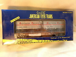American Flyer 6-48532 Southern Pacific Flatcar With Piggyback Trailers/ Boxed/s