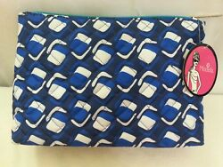 NEW Modella Cosmetic Make Up Travel Bag 4 Piece Set Zippered Pouch NWT $7.50