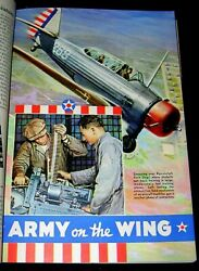 Randolph Army Air Force Base 1940 Color Pictorial Training Pre World War Ii