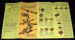 South Bend 1967 Fishing Reels Catalog Brochure Rods And Lures + Gladding Lines